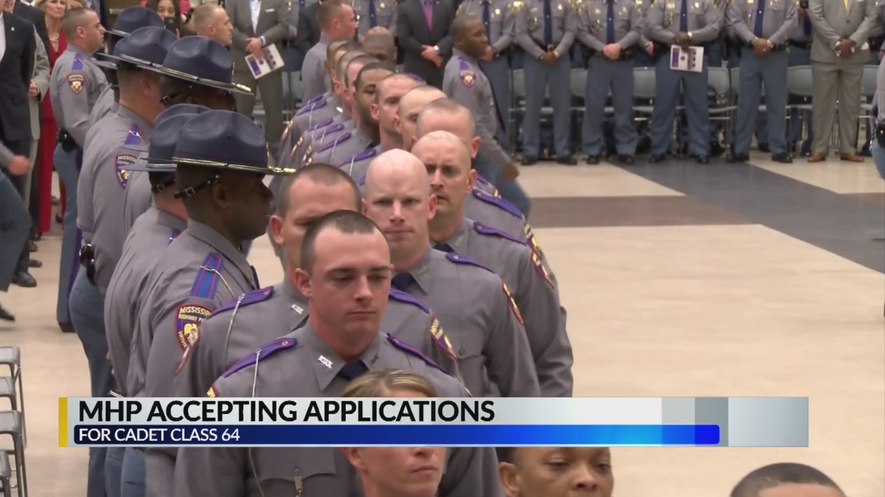 Mississippi HIghway Patrol Accepting Applications