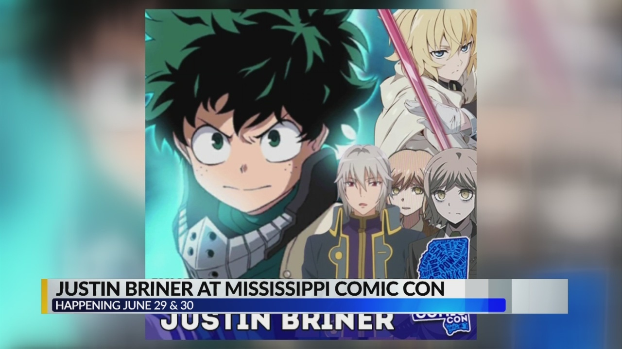 Justin Briner is Coming to Mississippi Comic Con