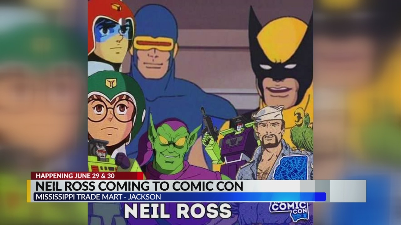 Neil Ross Coming to MS Comic Con