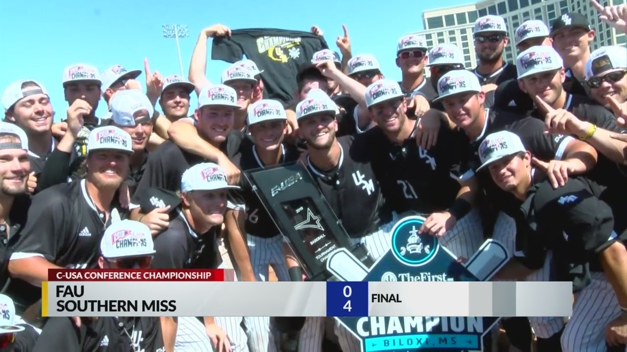 Southern Miss wins 3rd C-USA tournament in 4 years