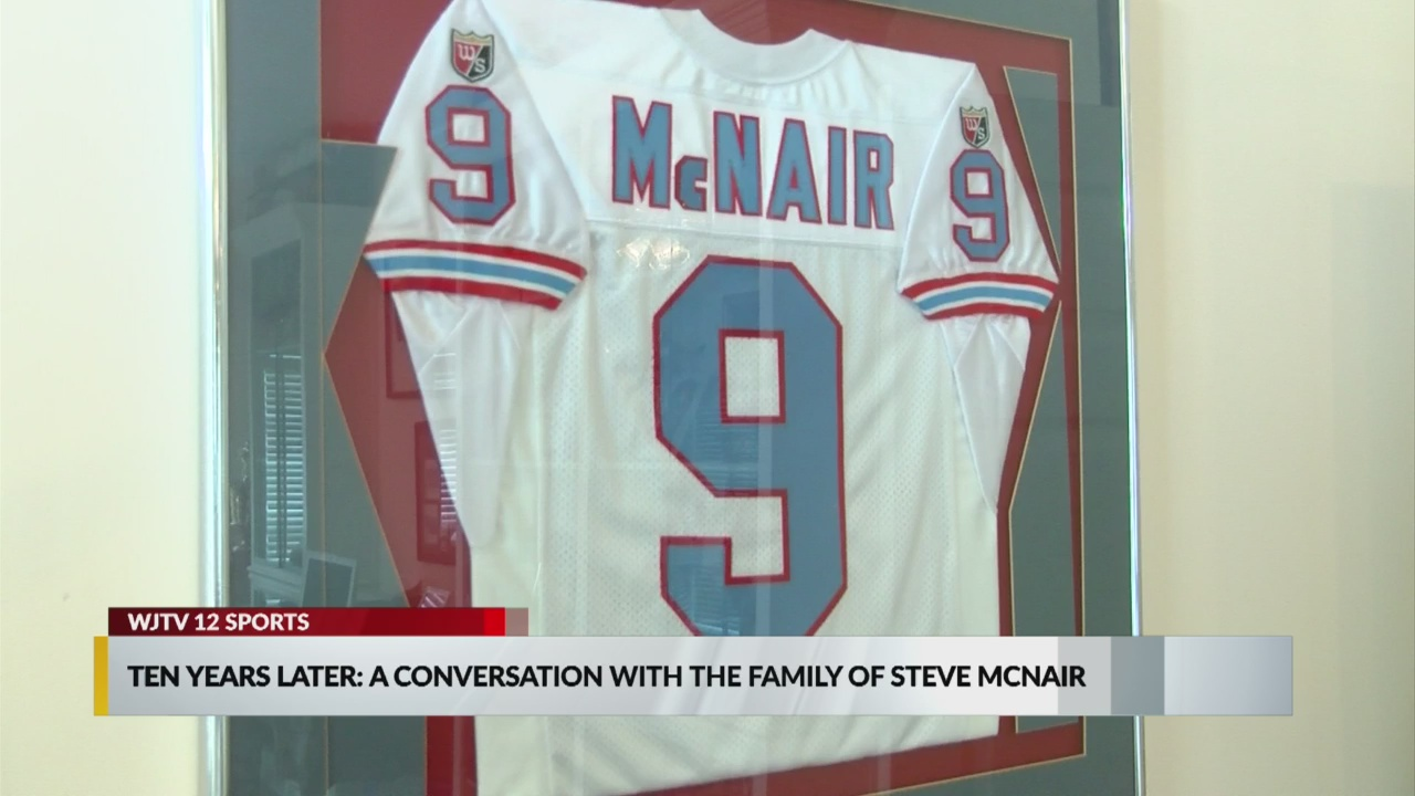 reputable site 94ee6 02e31 Ten years later: a conversation with the family of Steve McNair