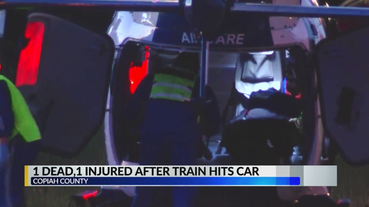 One Person Killed after Train Hits Car