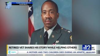 Military veteran uses life experiences to help others