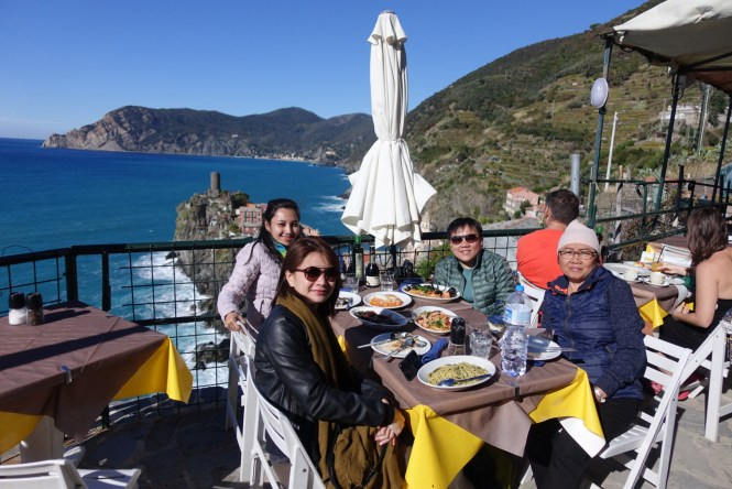 Lunch at Vernazza