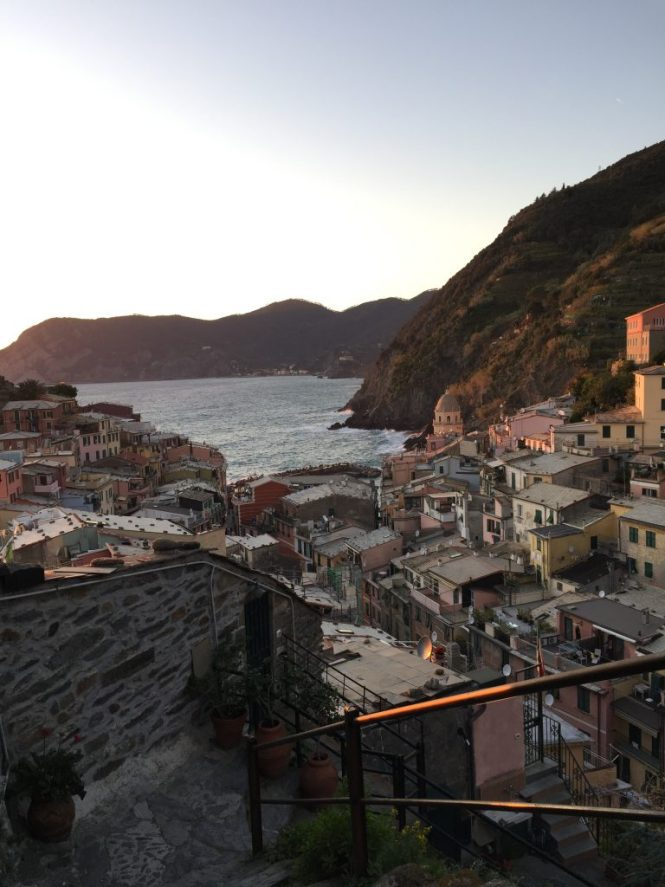 Magical Vernazza Sunset