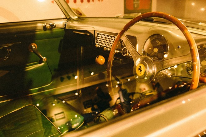 Vintage Green Ferrari