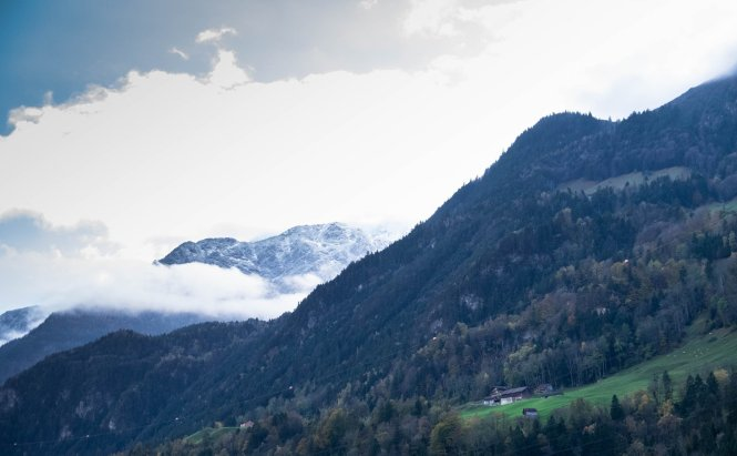 One of the sceneries from the bus ride from Como to Lucerne