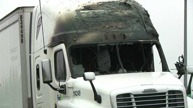 Semi truck fire Liberty Township_512363