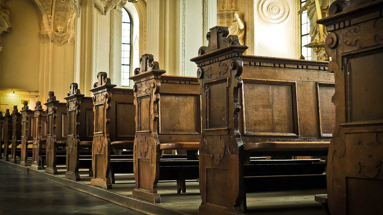 Church pews generic