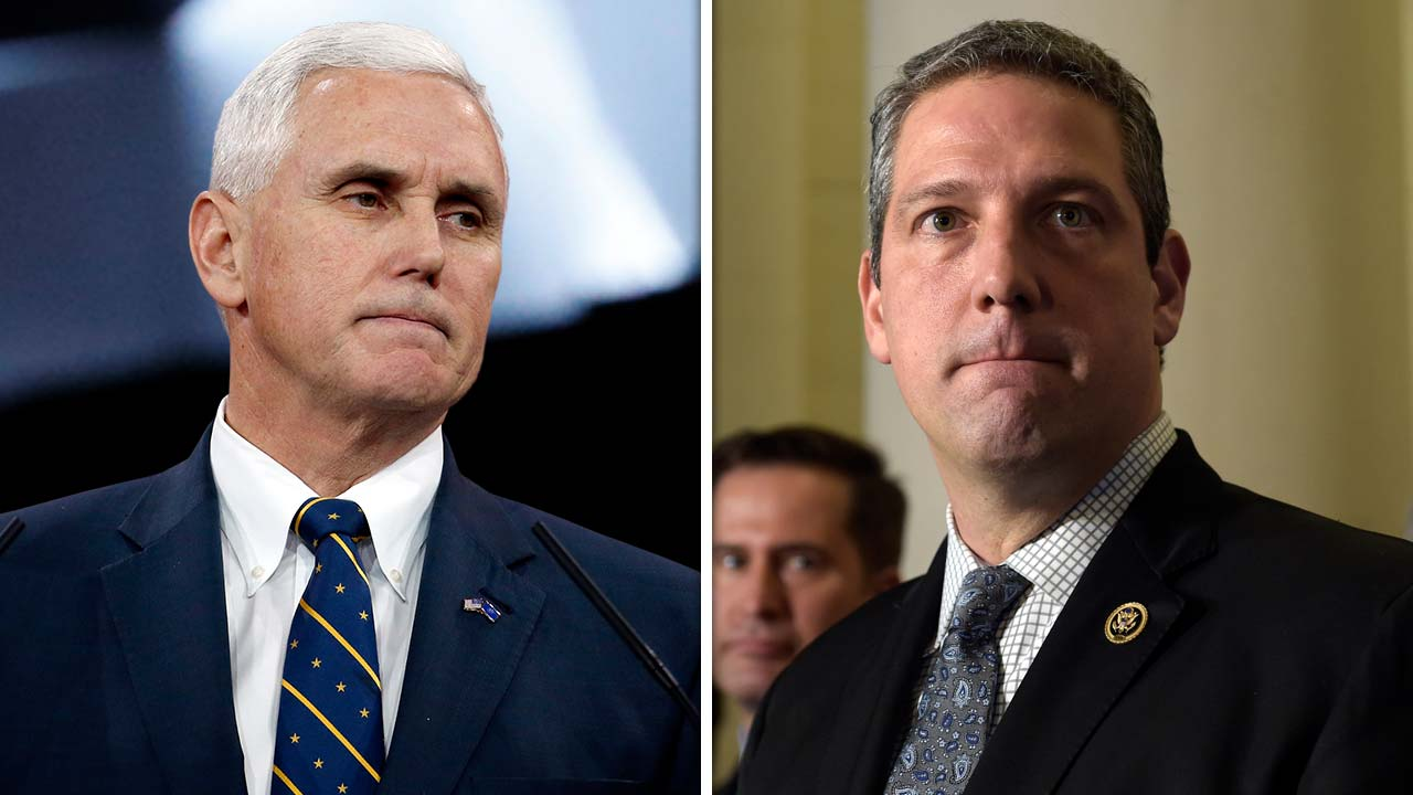 Mike Pence and Time Ryan