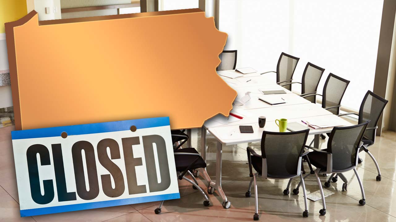 Pennsylvania Business Closed Generic