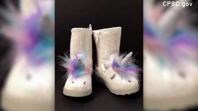 Target unicorn boots recall