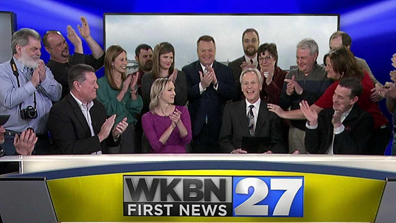 Rich Morgan's last day at WKBN 27 First News