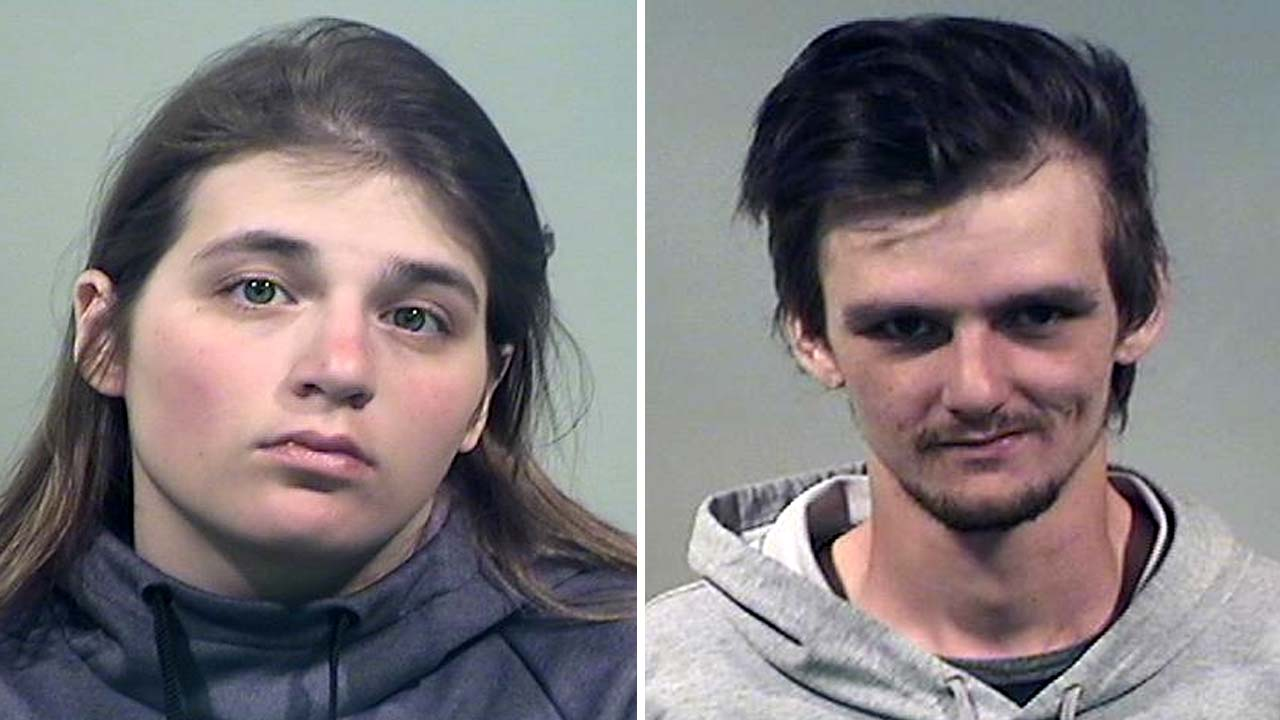 Alyssa Corradetti and Austin Dunn, charged with aggravated robbery in Niles.
