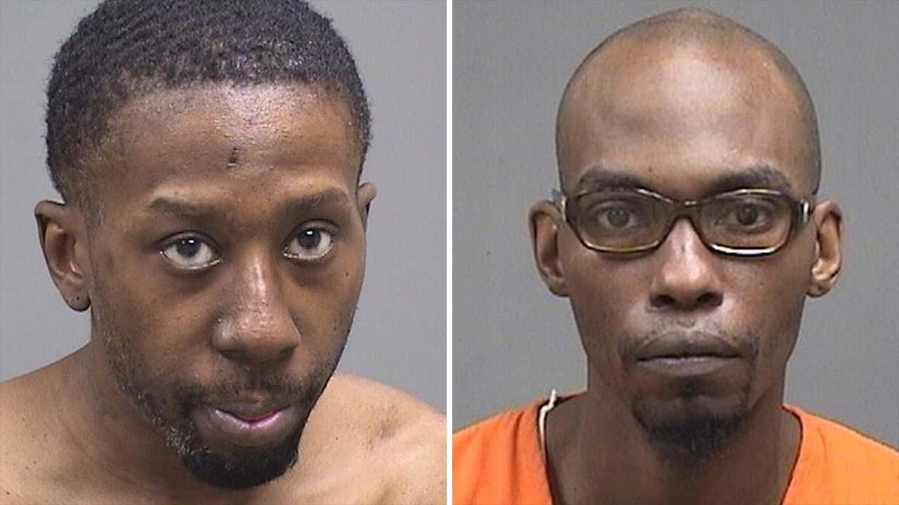 Ian Perry and Kenneth Young, arrested during drug searches in Youngstown, Ohio