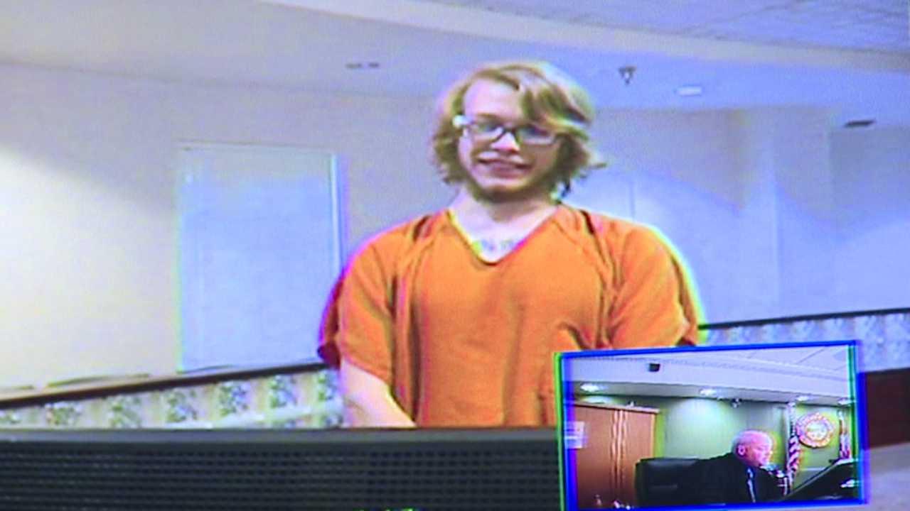 James Stennett in Warren courtroom