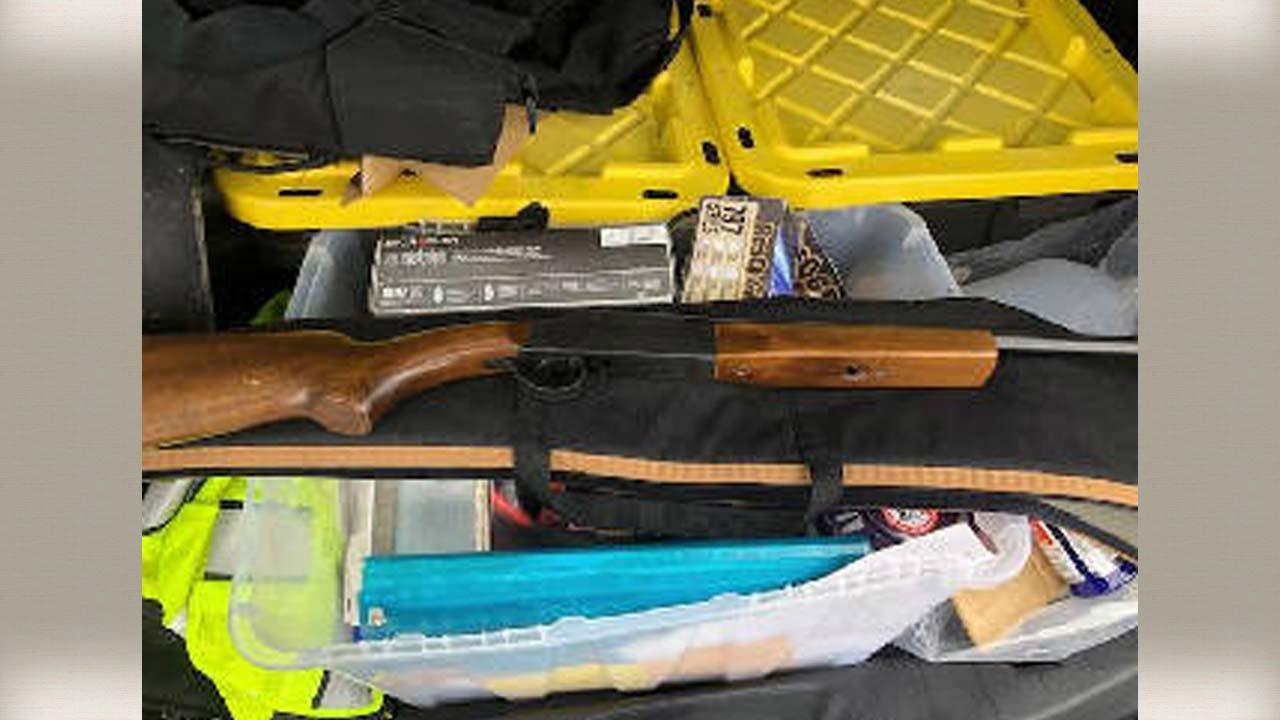 Shotgun found in Leavittsburg Athletic Complex