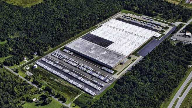 Former Kmart distribution center in Bazetta