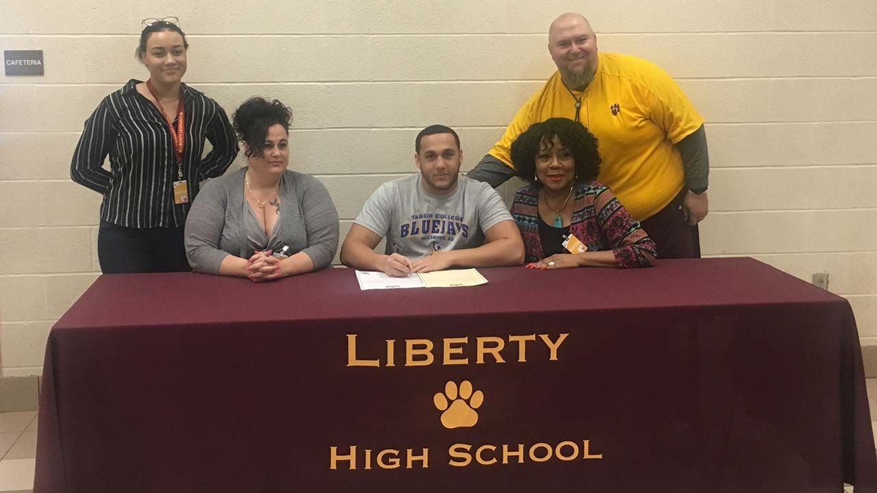 Liberty High School signing