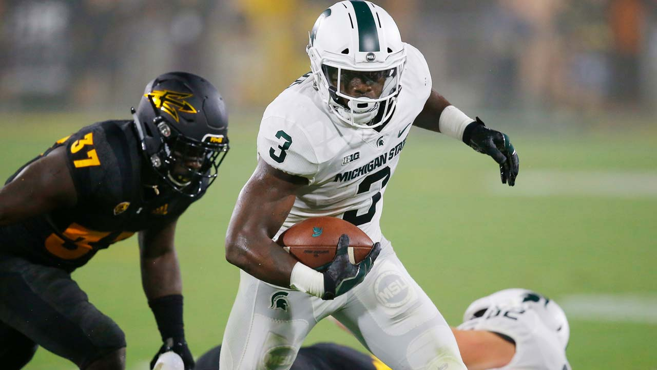 LJ Scott, Michigan State Running Back