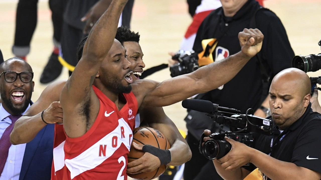 Toronto Raptors NBA champs