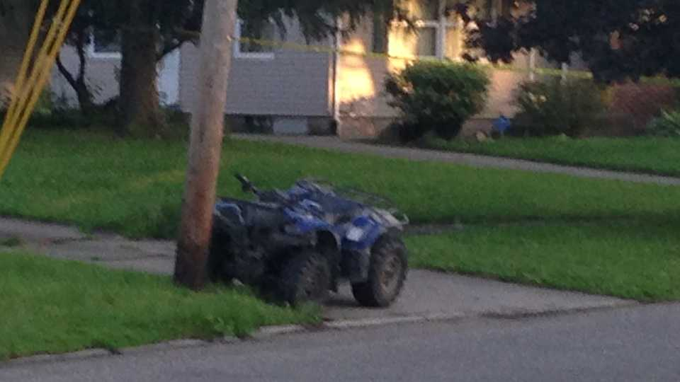 ATV crashes on Parkwood Avenue in Warren