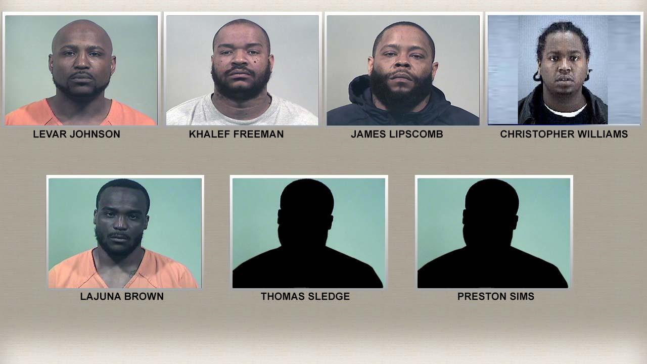 Federal drug charges arrest