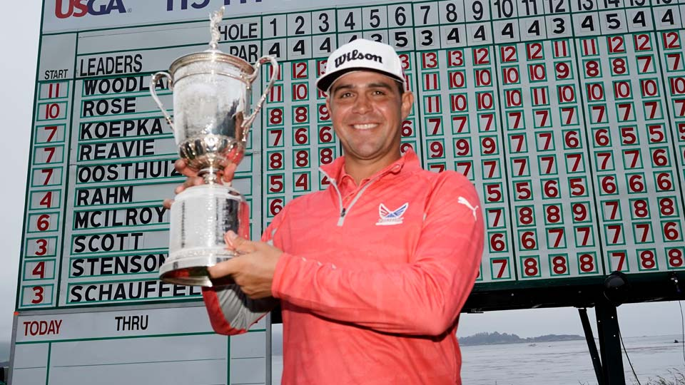 Gary Woodland wins U.S. Open Championship