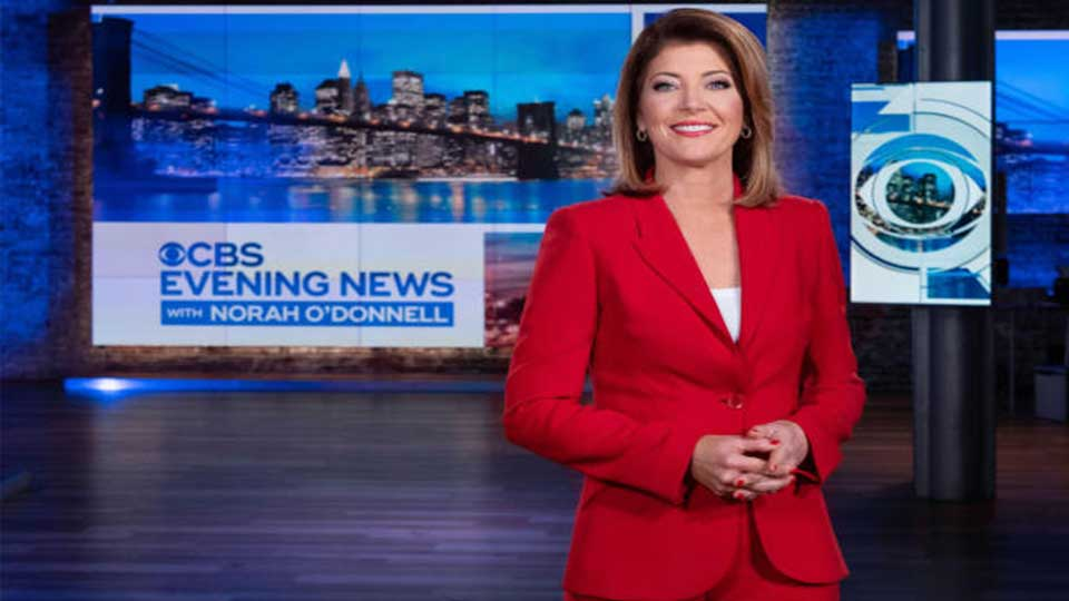 "The ""CBS Evening News with Norah O'Donnell"" will debut Monday, July 15 here on CBS."