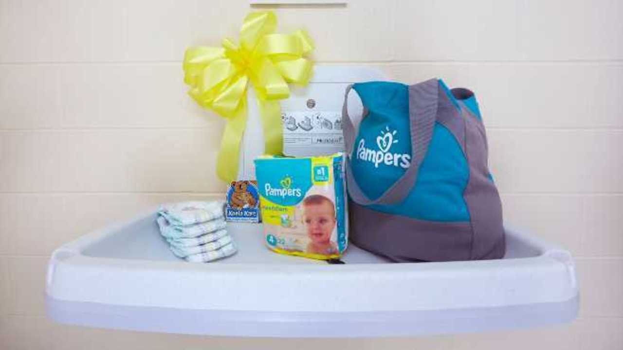 Pampers to install 5,000 diaper stations in men's rooms