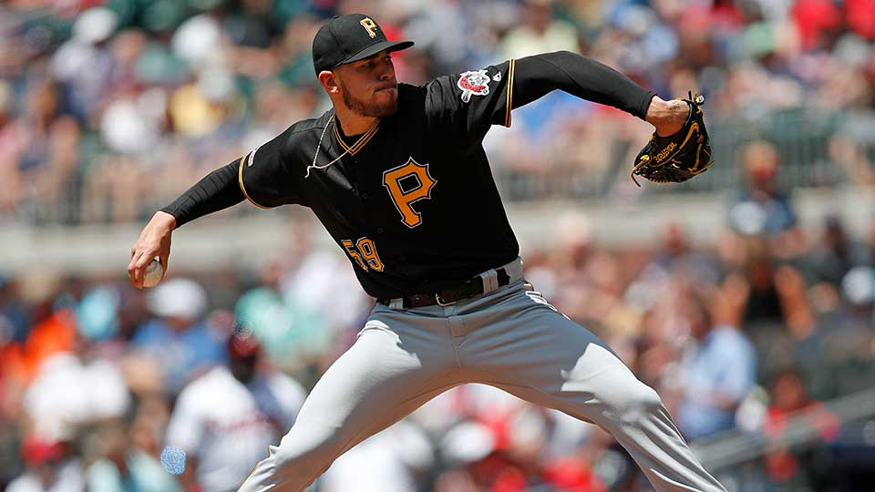 Pittsburgh Pirates Starting Pitcher Joe Musgrove