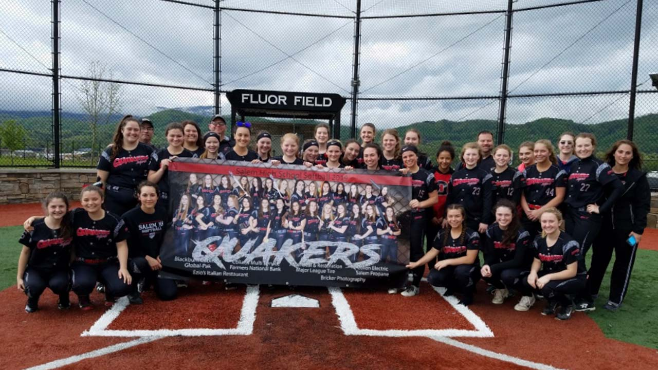 Salem High School Team, 2019.