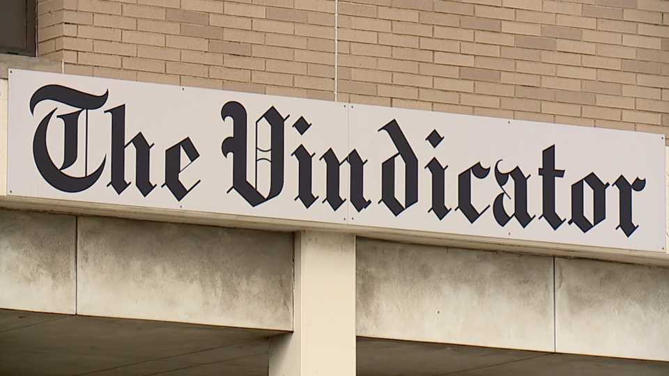 The Vindicator newspaper in Youngstown is closing