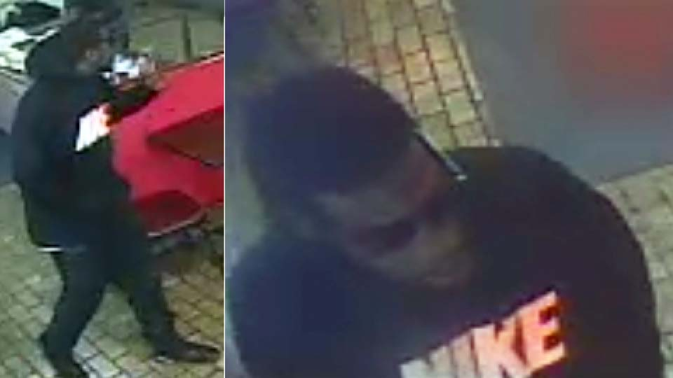 Youngstown Pizza N Gyro robbery suspect