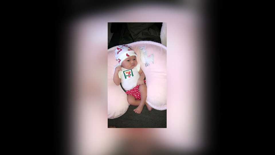 A Saint Louis woman who gave birth on July, 11 at 7:11 p.m. to a girl who weighed 7 pounds 11 ounces got a nice gift from 7-Eleven.