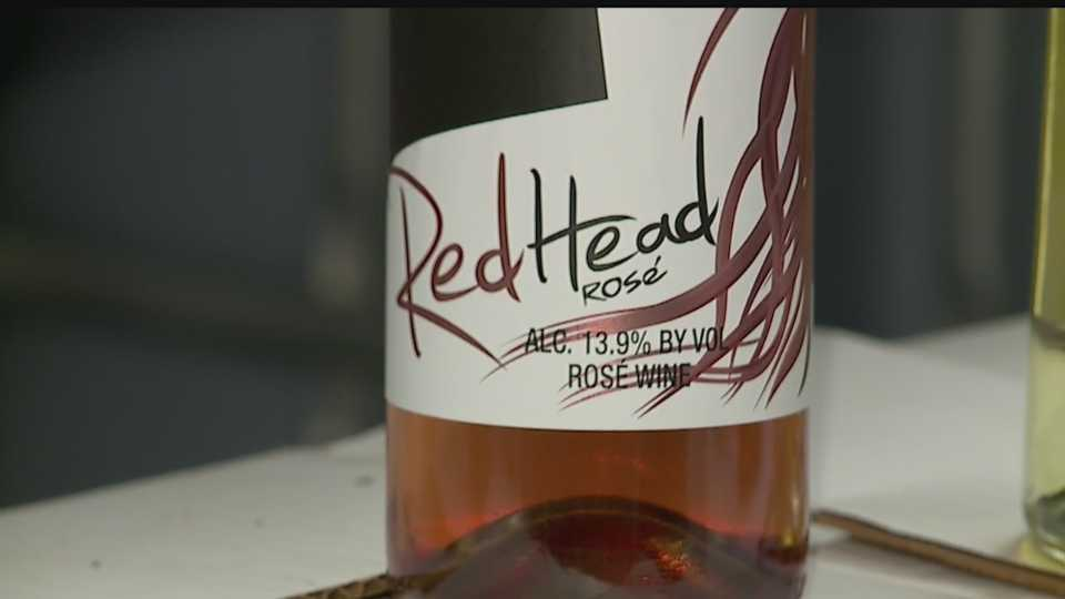 RedHead Rose, local wine