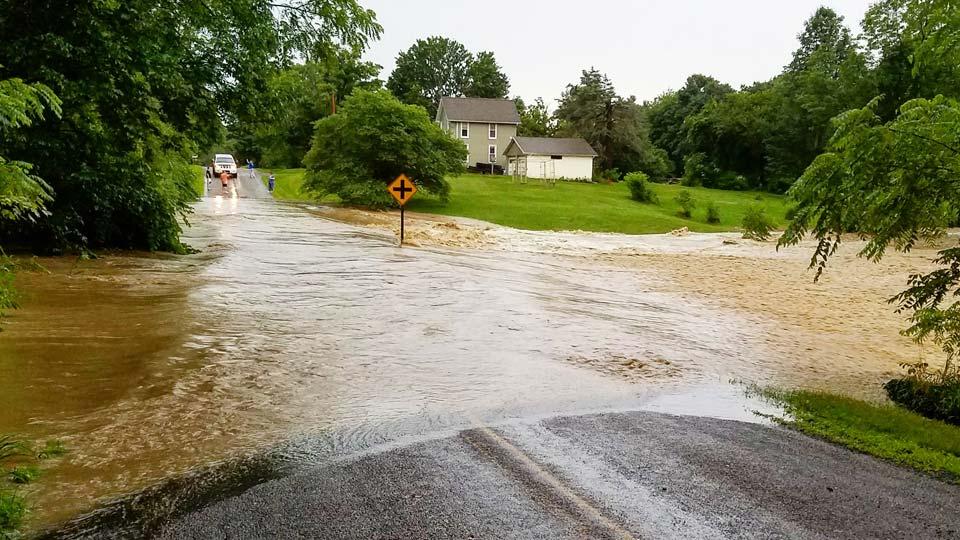Photo from Devon in Greene Township.