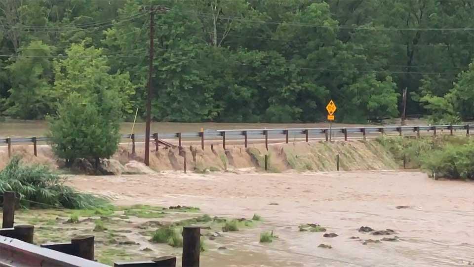 Kinsman flooding