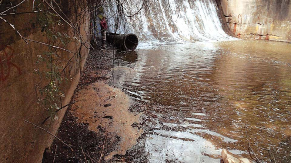 ODNR Dam Inspection Report of the damage in Kinsman.