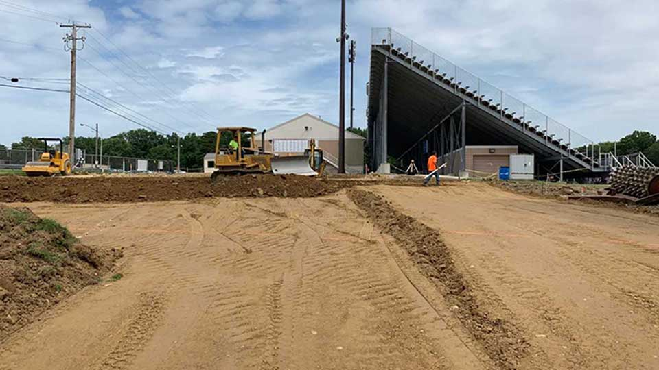 Taylor Kia Of Boardman >> Taylor Kia donates 50K to final phase of Boardman Spartan Stadium project | WKBN.com