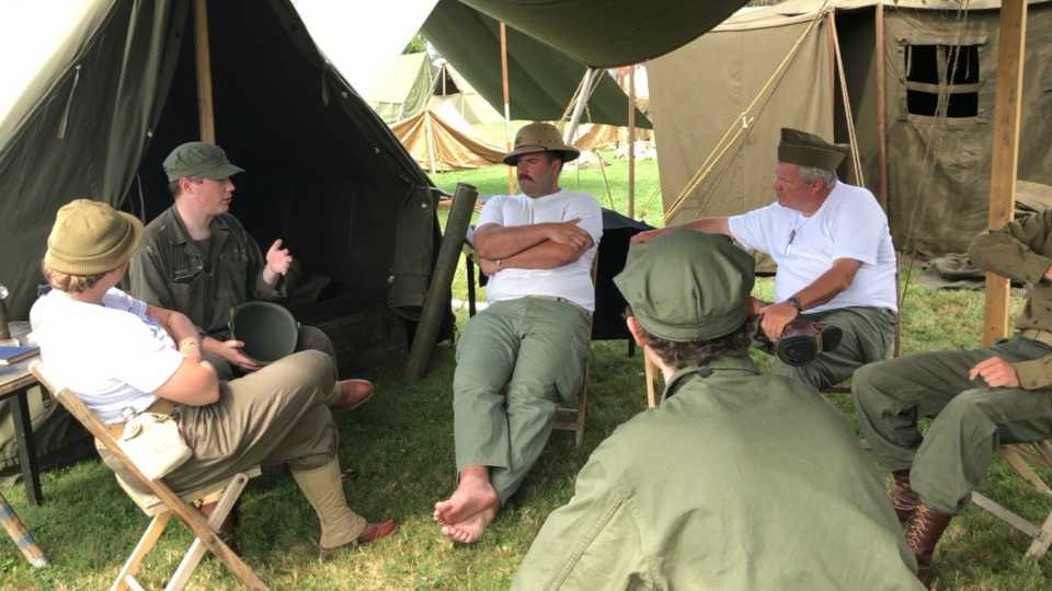 Massachusetts man travels to Ohio to participate in D-Day