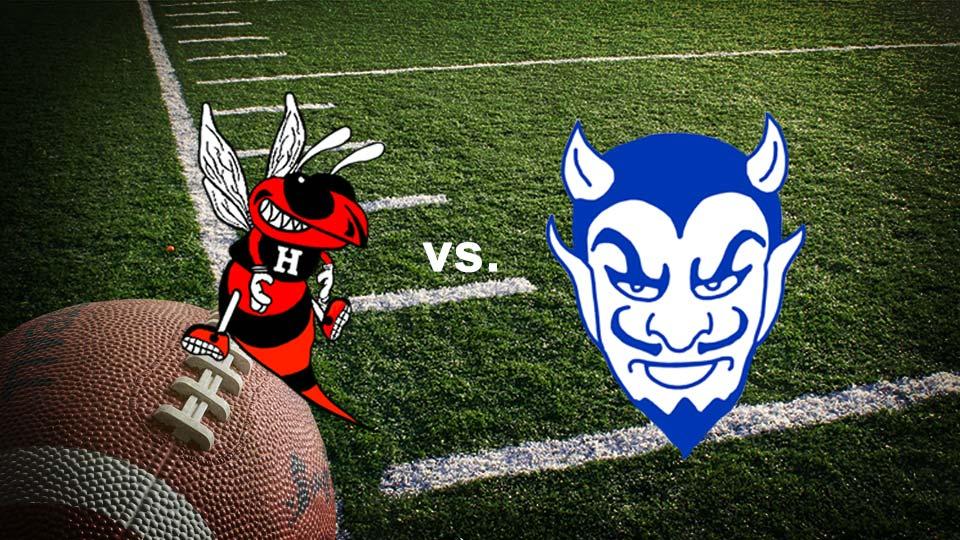 Hickory Hornets vs. Sharpsville Blue Devils high school football