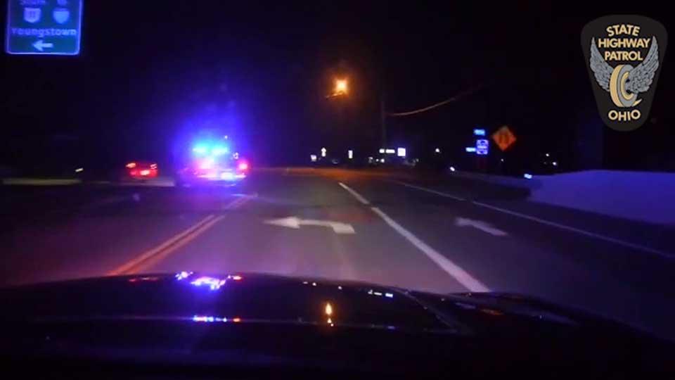 Watch: Dash-cam video shows high-speed chase through