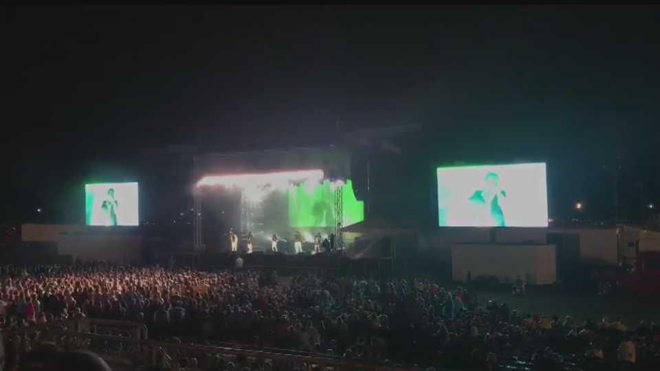 Pentatonix concert at the Canfield Fair