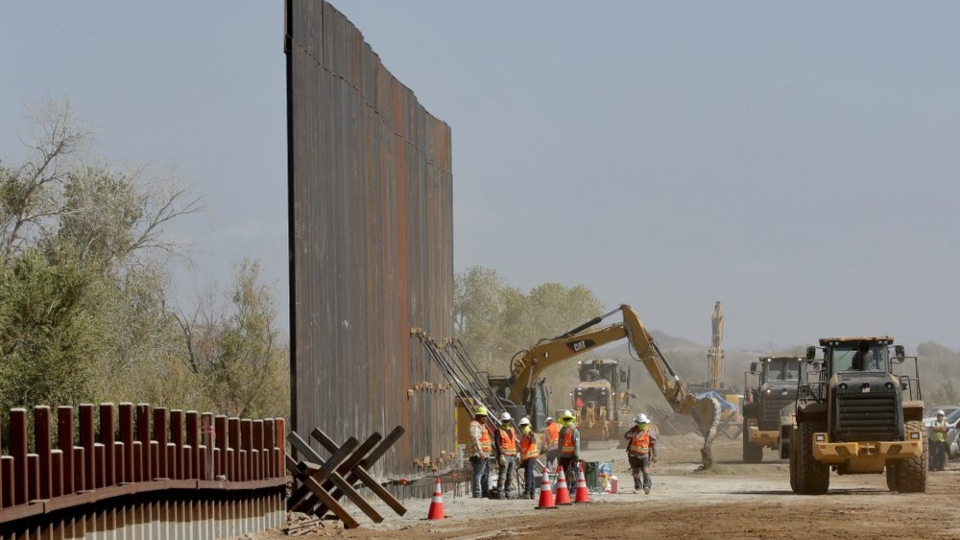 Arizona border wall