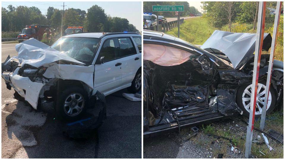 1 critically injured in Chardon crash