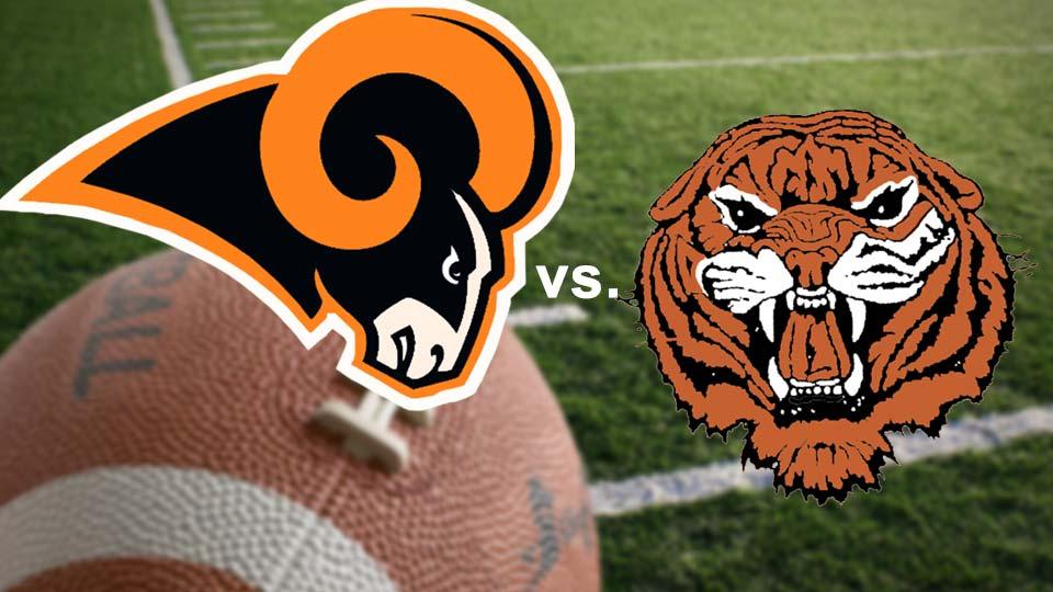 Mineral Ridge Rams vs. Newton Falls Tigers high school football