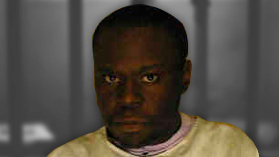 Sean Carter, death row inmate. Convicted of the rape and murder of his adoptive mother in Southington, Ohio.