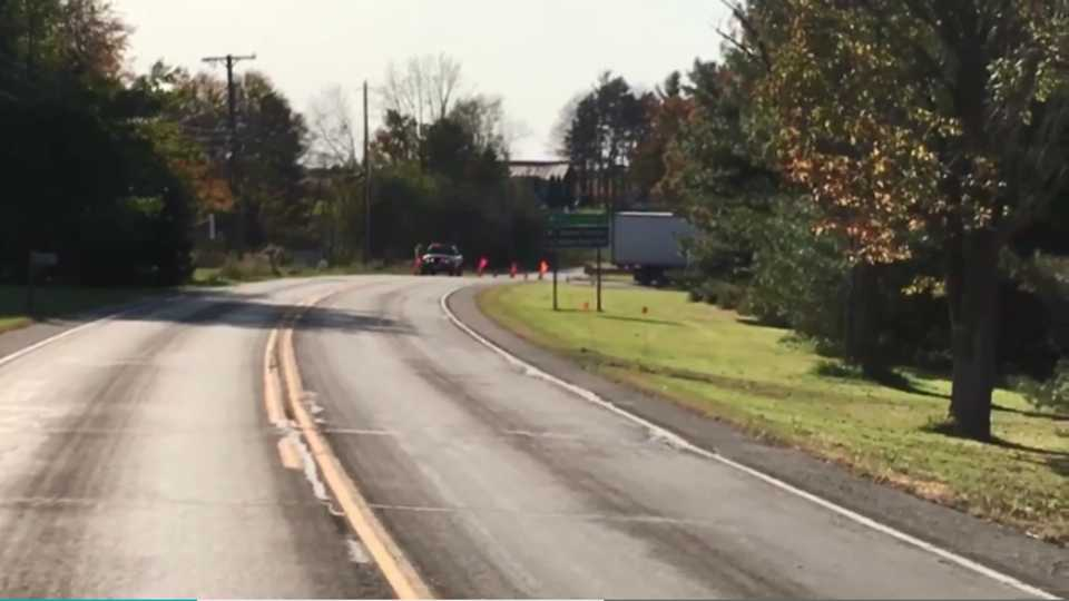 Gas well fire shuts down road in West Salem Township