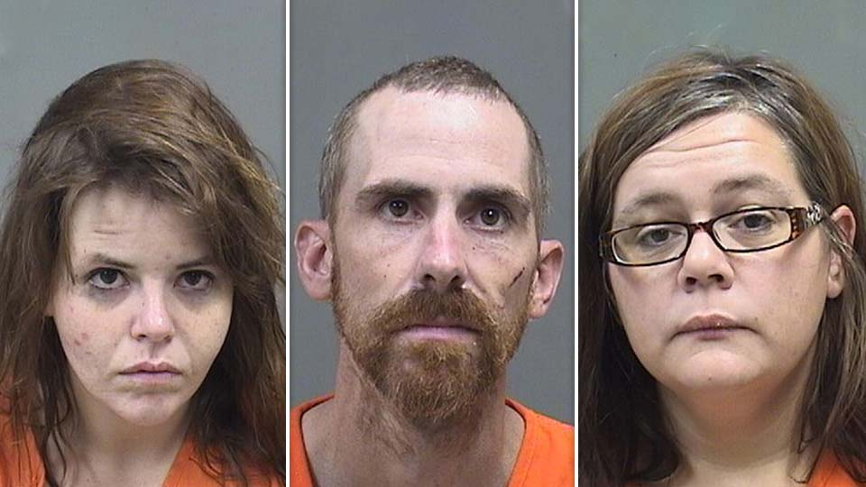 Annie Smoot, Jayme Valentine and Jacquelynn Celesnik, all of Canton, Ohio, exposed a Milton Township officer to a drug substance that required two doses of narcan to revive.
